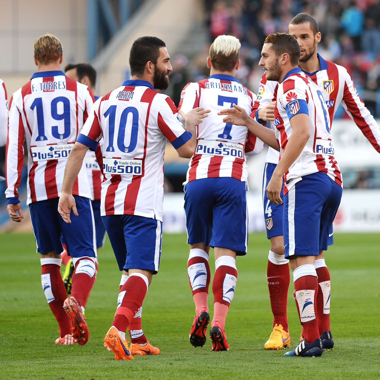 Arda Turan and Koke proved a lethal combo on the day for Atletico.