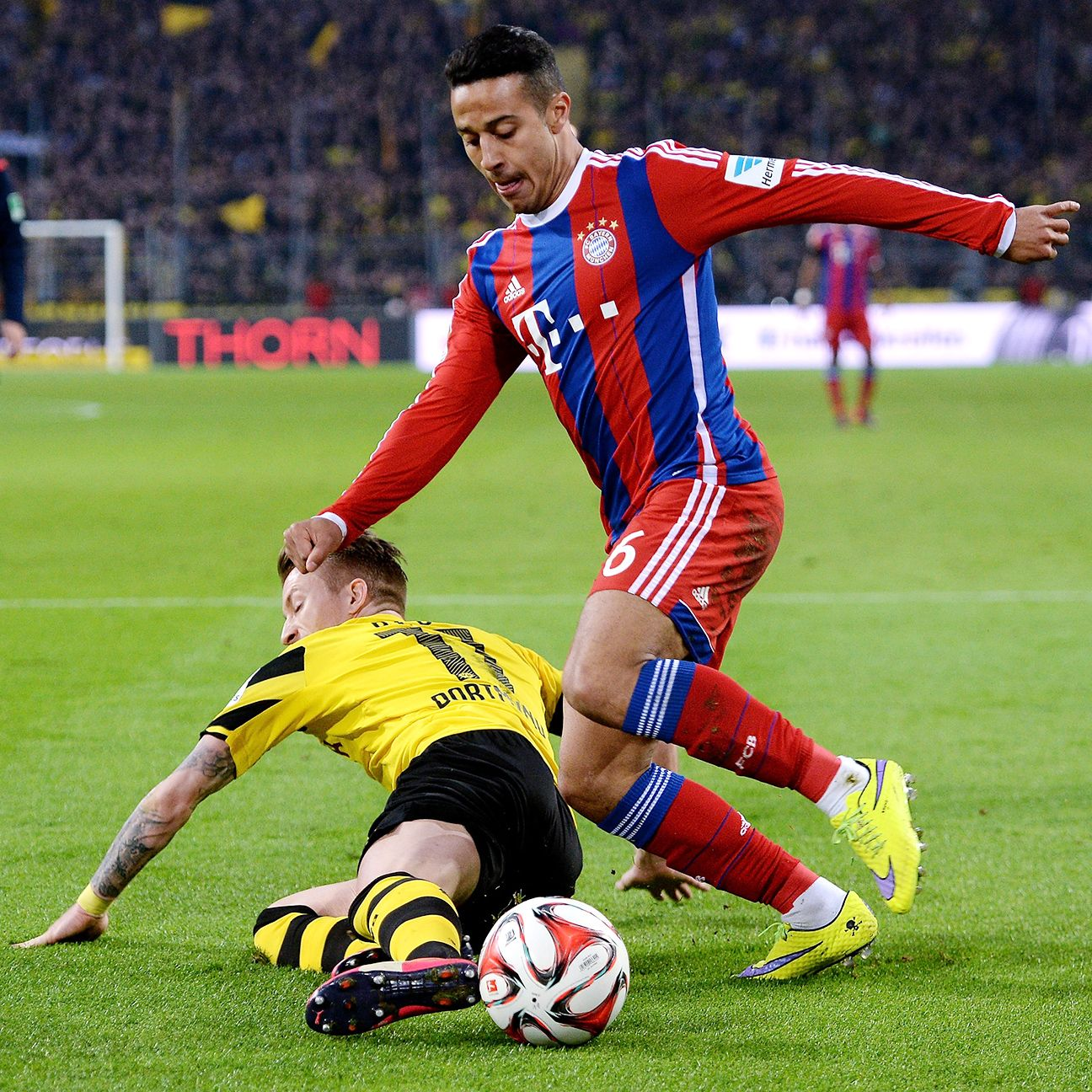 The return of Thiago should bolster what has been a banged-up Bayern in 2015.