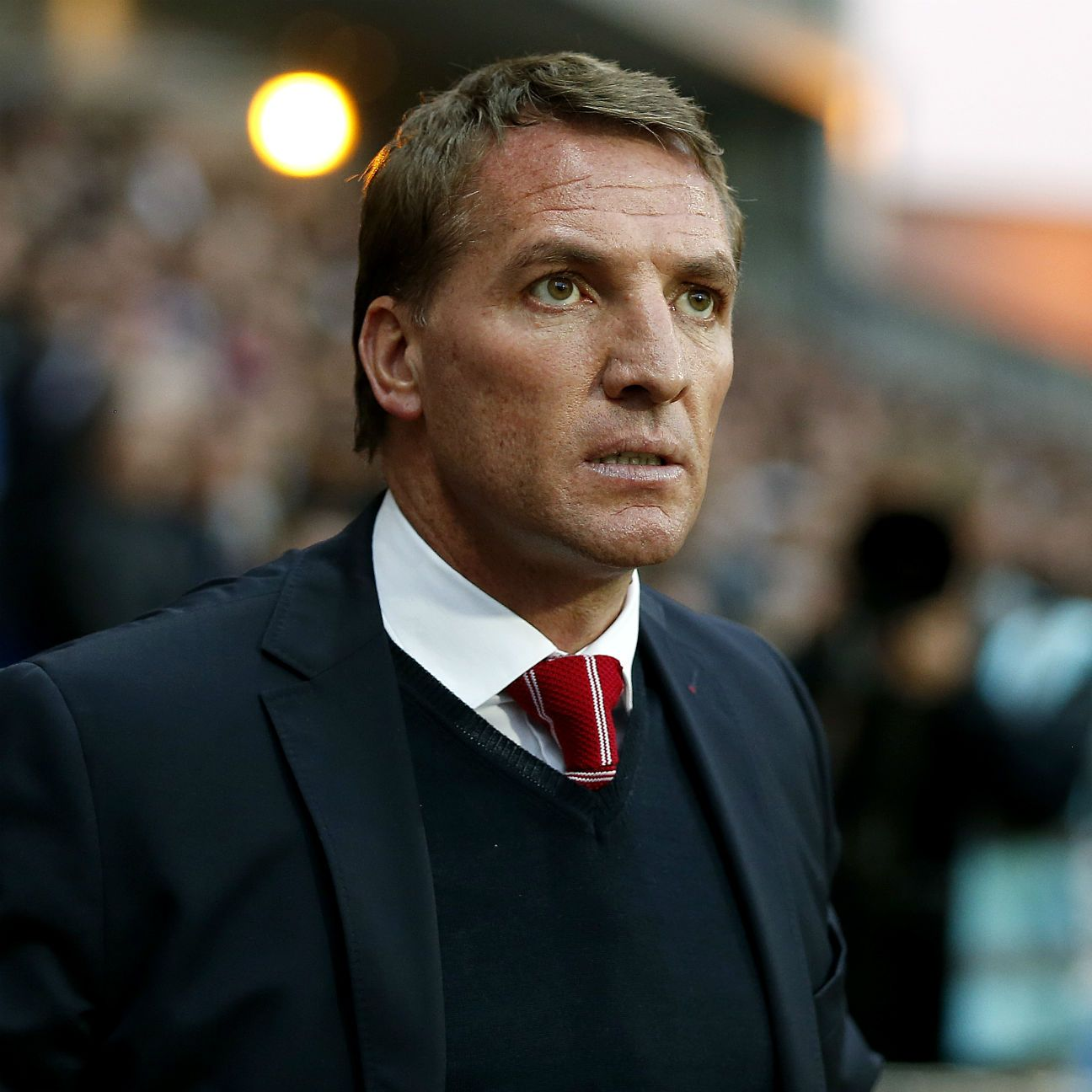 Liverpool boss Brendan Rodgers opted to revert back to a 4-3-3 that produced mixed results.