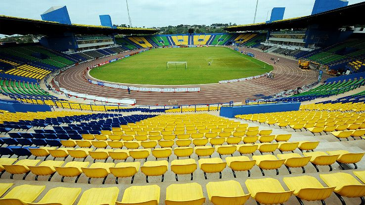 The Stade de Franceville will be one of the four sites during the 2017 African Nations' Cup in Gabon.