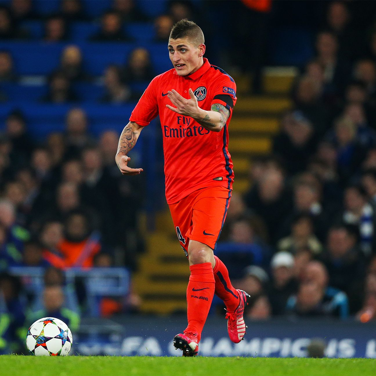 Marco Verratti would add some verve to the Milan midfield.