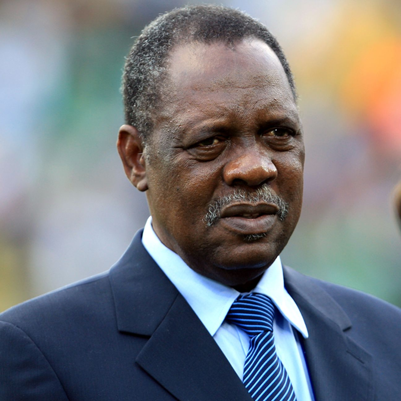 Cameroonian Issa Hayatou has been at the helm of African football for 27 years.