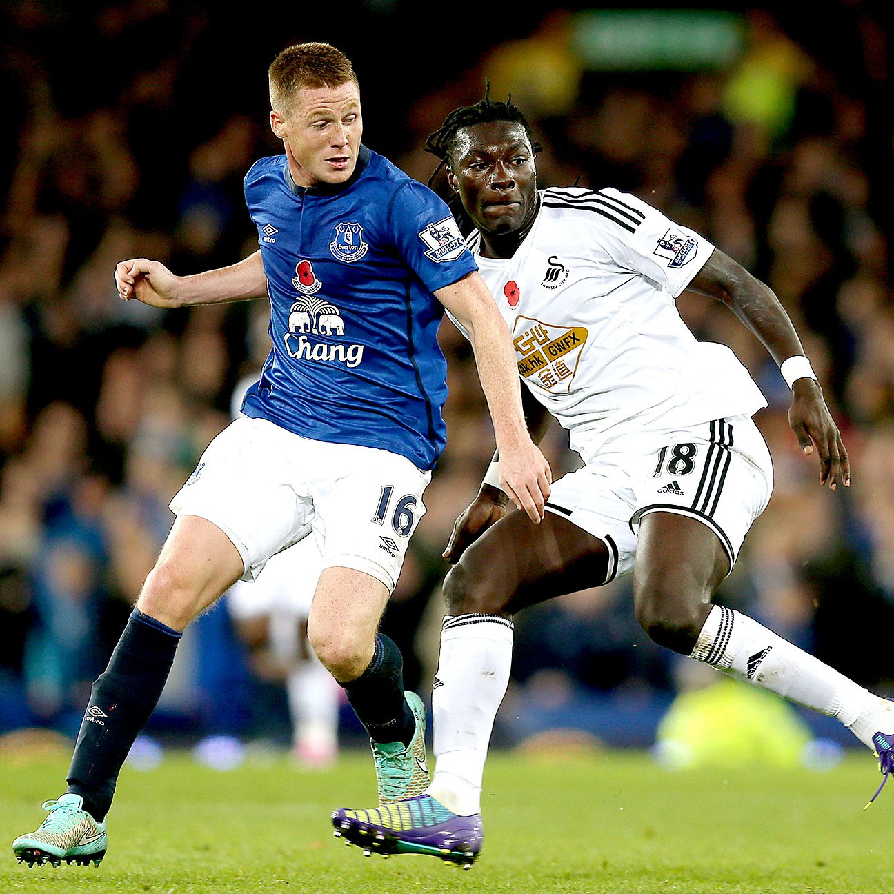 Bafetimbi Gomis and Swansea are seeking their first ever Premier League victory over Everton.