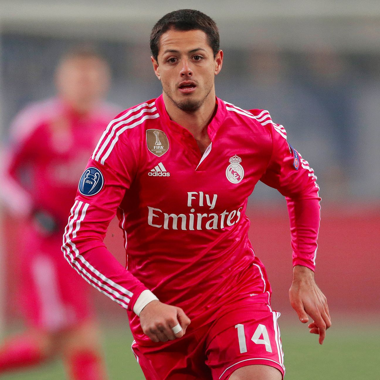 Time will tell if Chicharito Hernandez will be playing football at the Bernabeu next season.