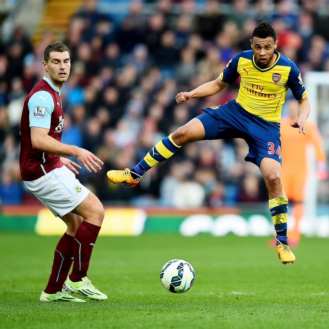The space inhabited by Francis Coquelin was where Burnley's counterattacks went to die in Arsenal's 1-0 win at Turf Moor.