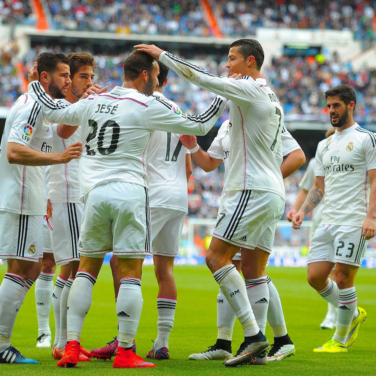 Real Madrid were hardly troubled against Eibar in collecting their third straight league win.