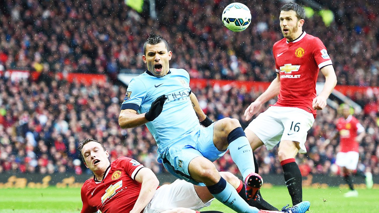 City's Sergio Aguero in same league as Thierry Henry and Eric Cantona