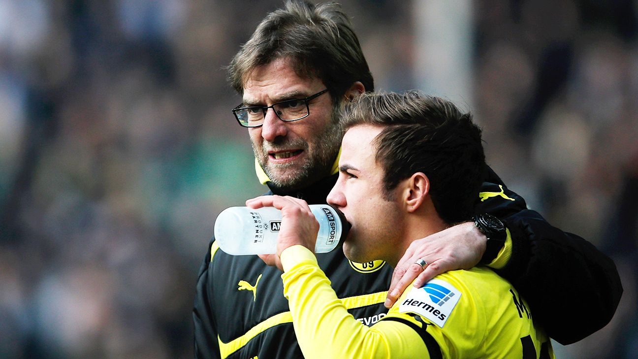 The departure of Mario Gotze to Bayern in 2013 was the beginning of the end for Jurgen Klopp at Dortmund.