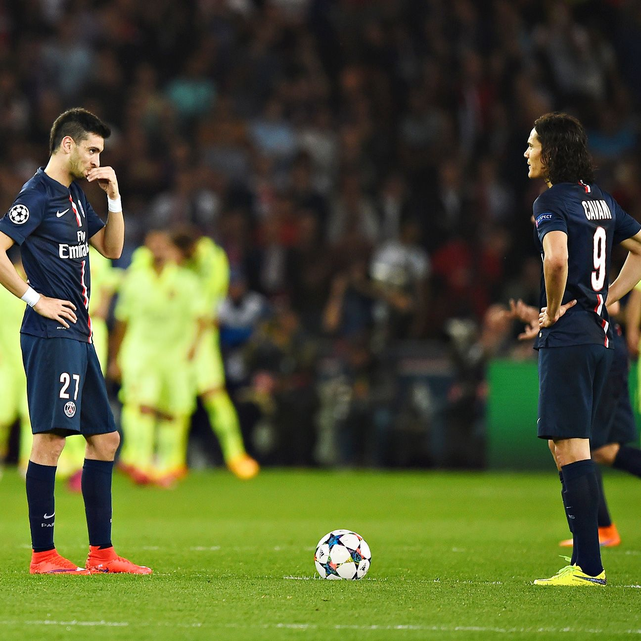 PSG's hopes of reaching a first Champions League semifinal in 20 years now look a slim possibility.