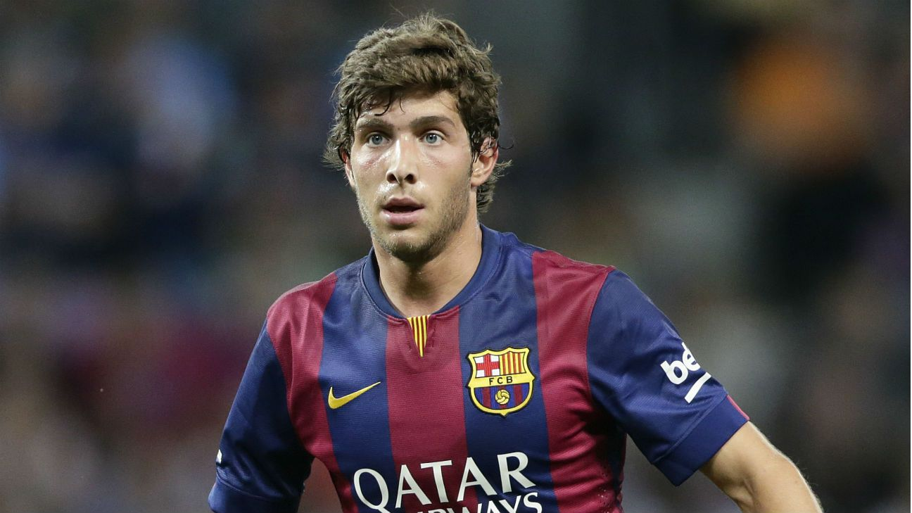 Barcelona Sergi Roberto faces spell on sidelines injury