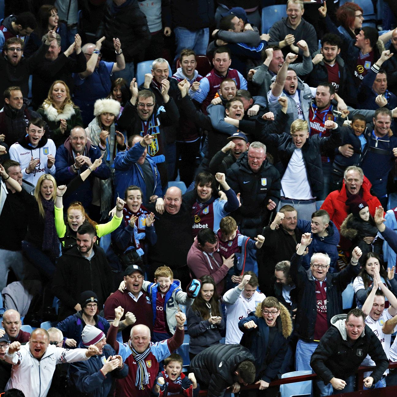 Aston Villa fans will be hoping to see their side clinch a spot in the FA Cup final for the first time since 2000.
