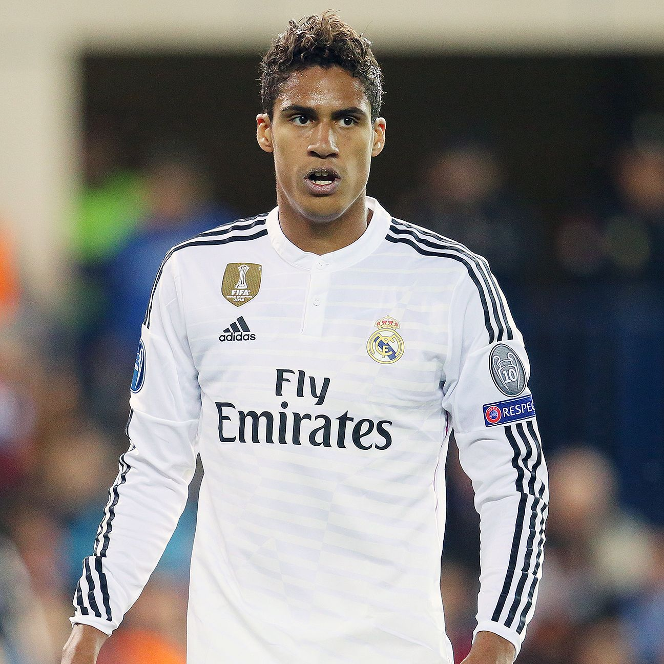Raphael Varane stood tall for Real in their scoreless Champions League quarterfinal first leg versus Atletico.