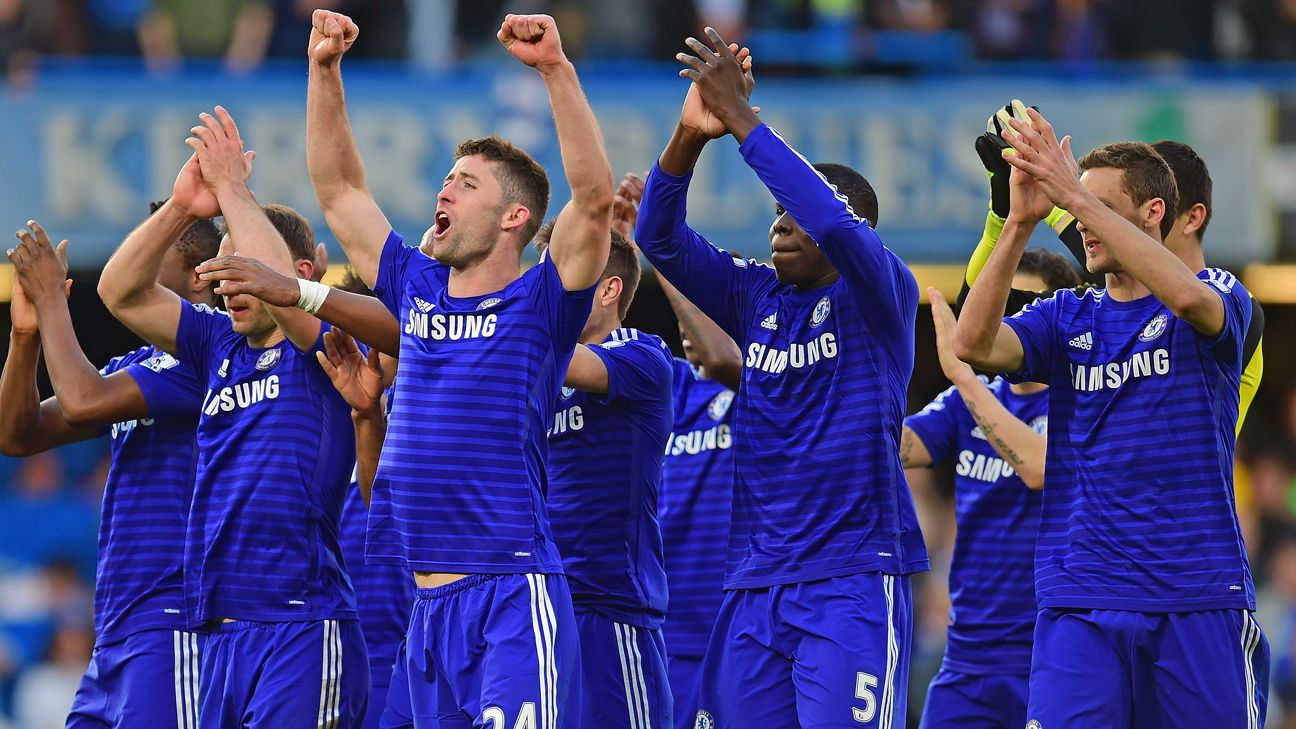 Chelsea close in on title as Eden Hazard strike beats Man United
