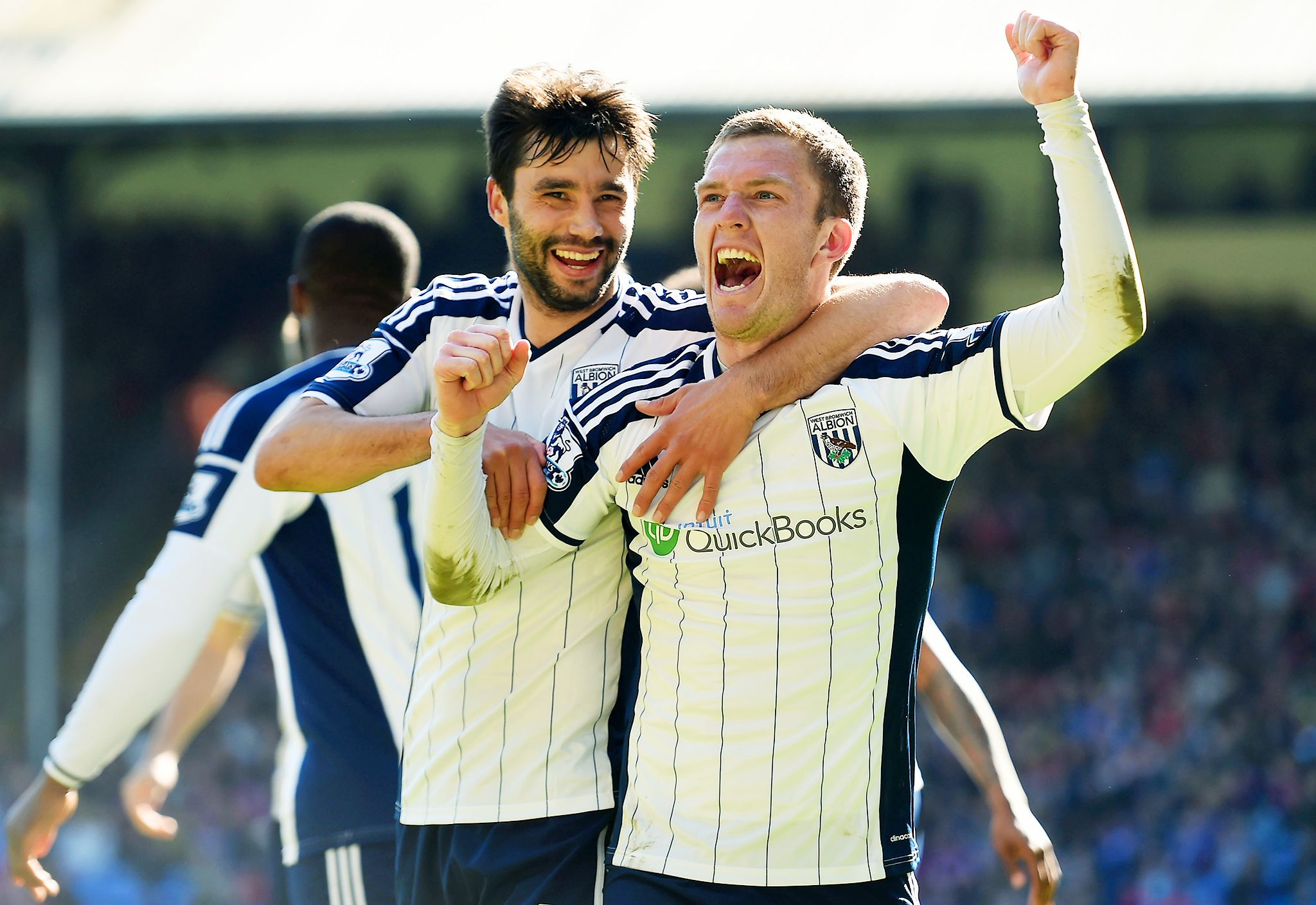 Gardner and West Brom stun Crystal Palace