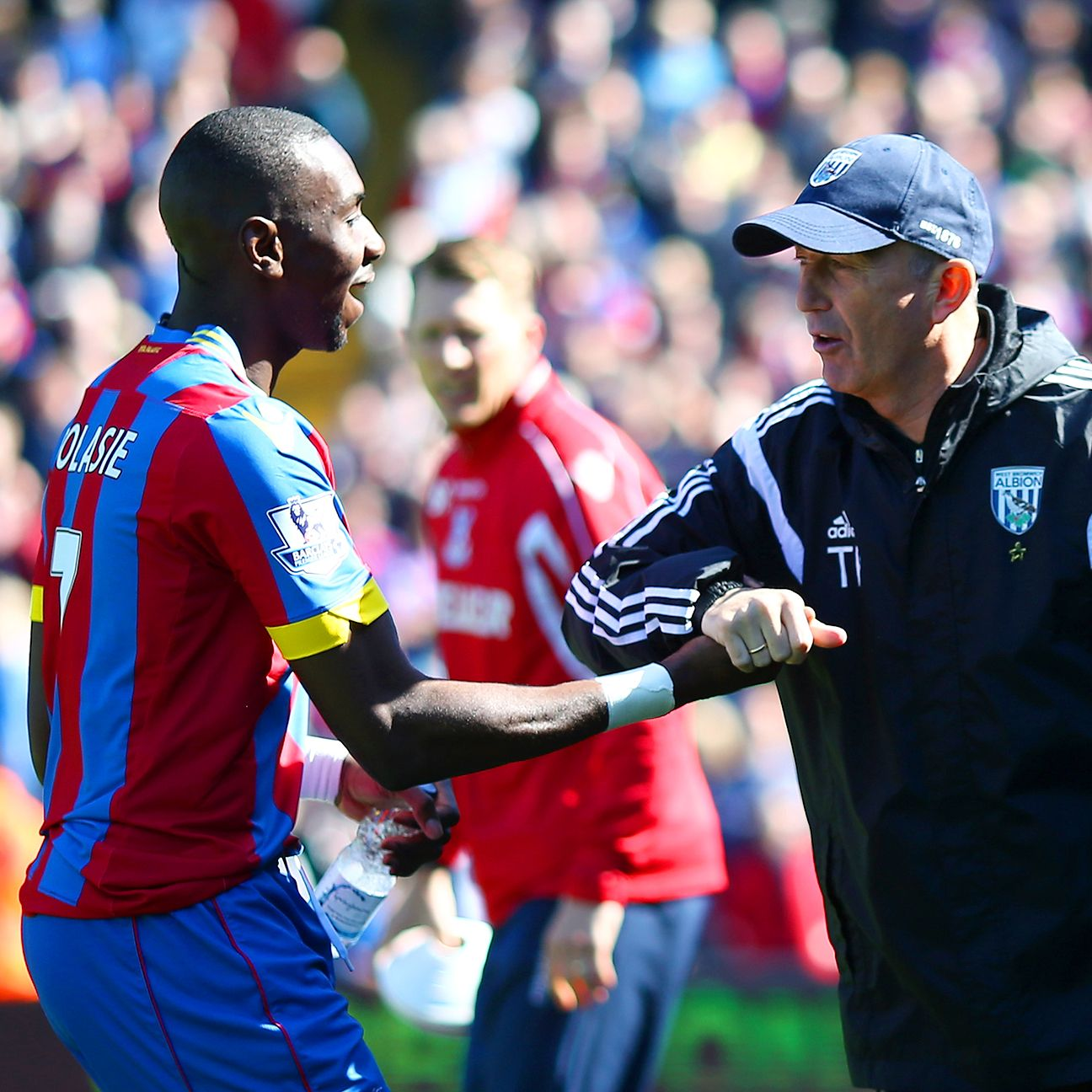 Yannick Bolasie and Crystal Palace found the going tough against Tony Pulis' West Brom.