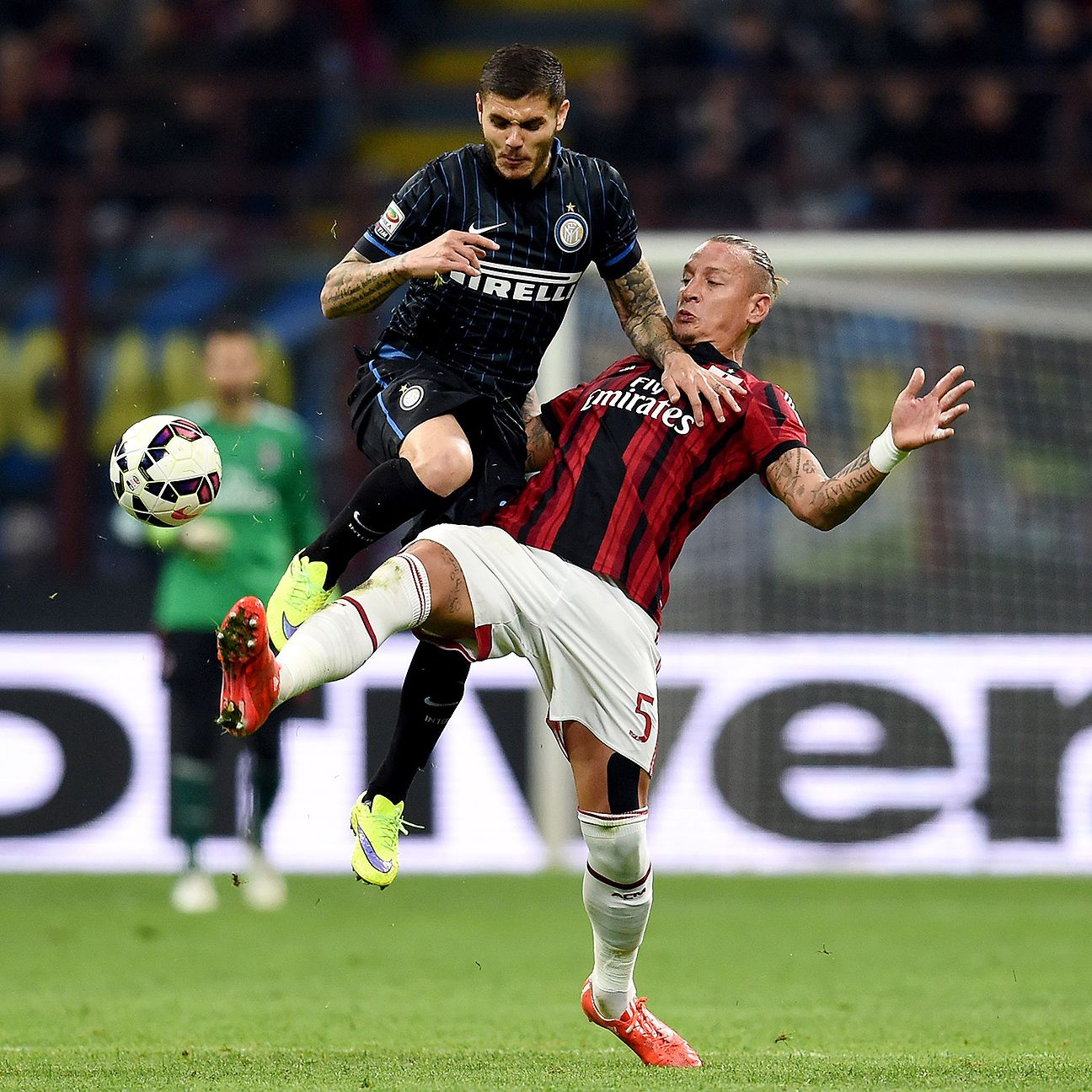 Between the two teams, Mauro Icardi and Inter had the bulk of the scoring chances against city rivals Milan.