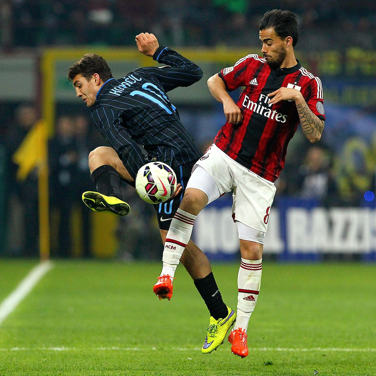 Suso and Milan were unable to muster much of a threat on Sunday in their 0-0 draw with Inter.