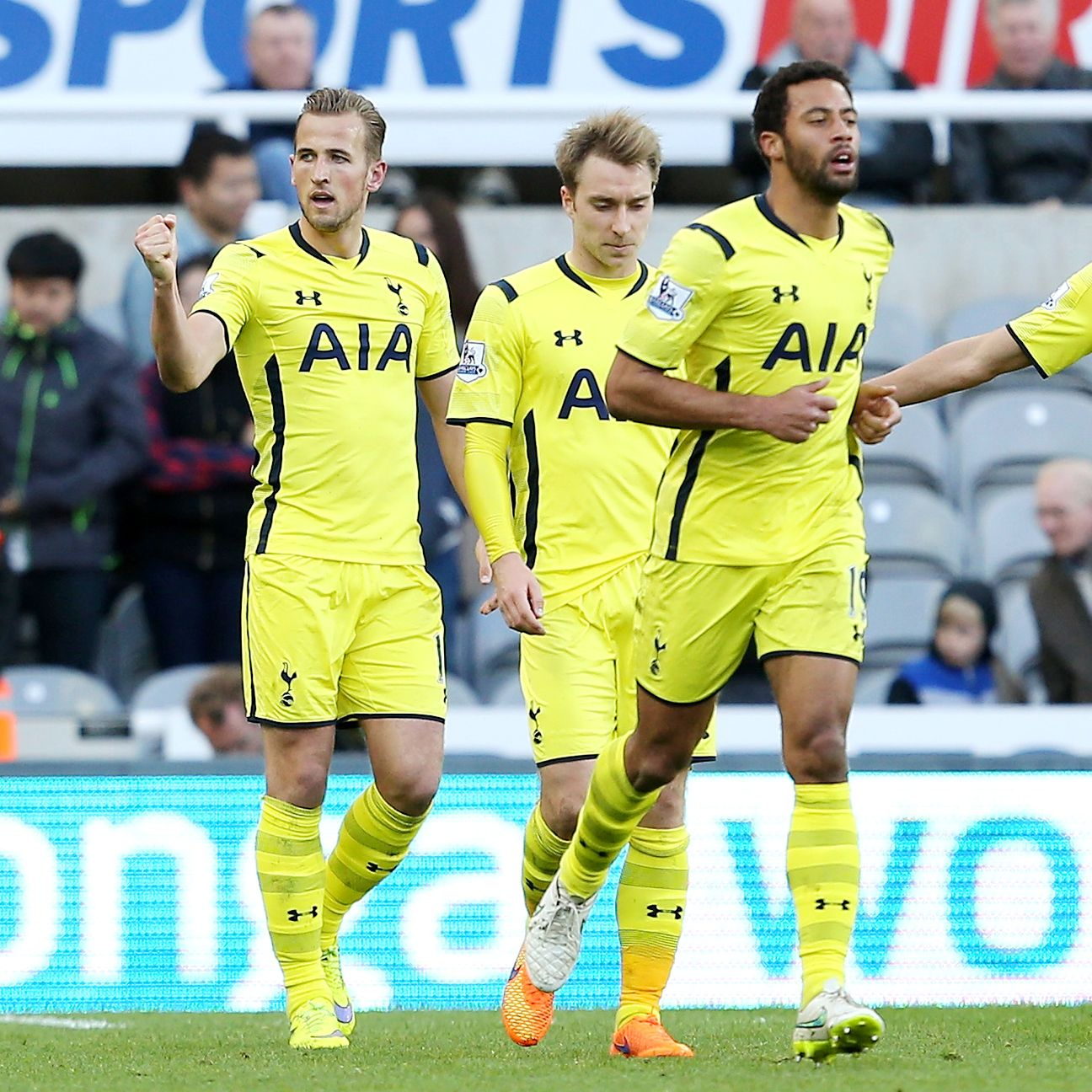 Tottenham snapped a two-match winless streak with a comprehensive performance at Newcastle.