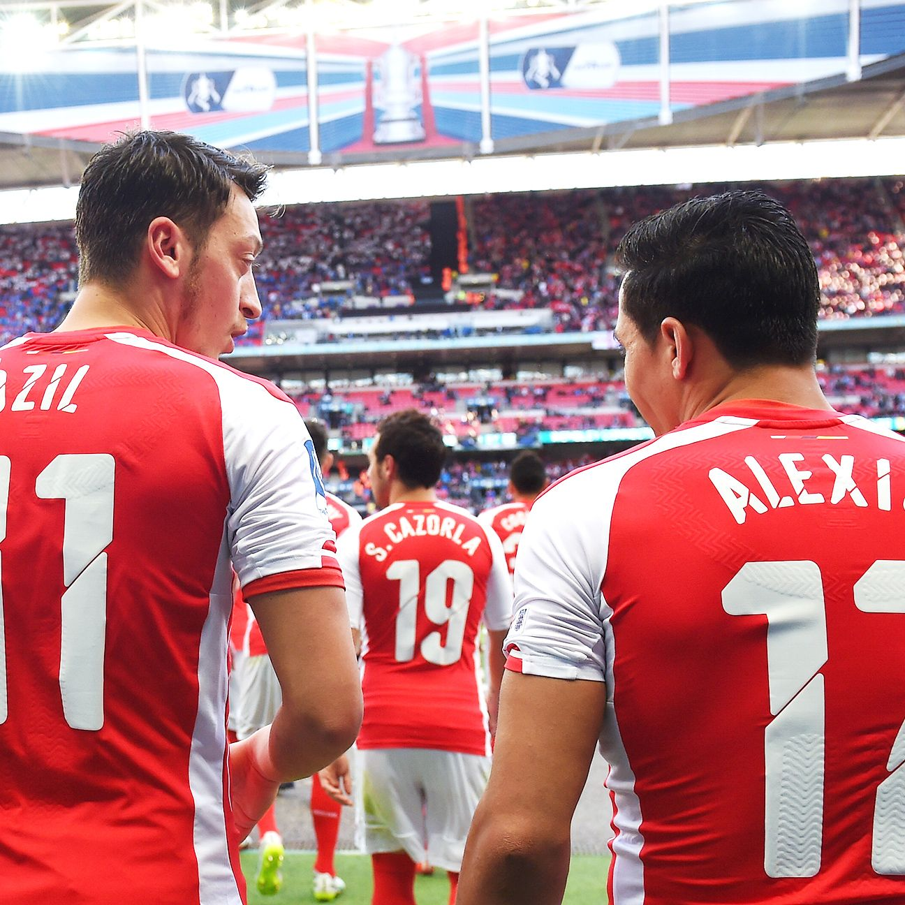Mesut Ozil and Alexis Sanchez teamed up to give Reading trouble on Saturday.