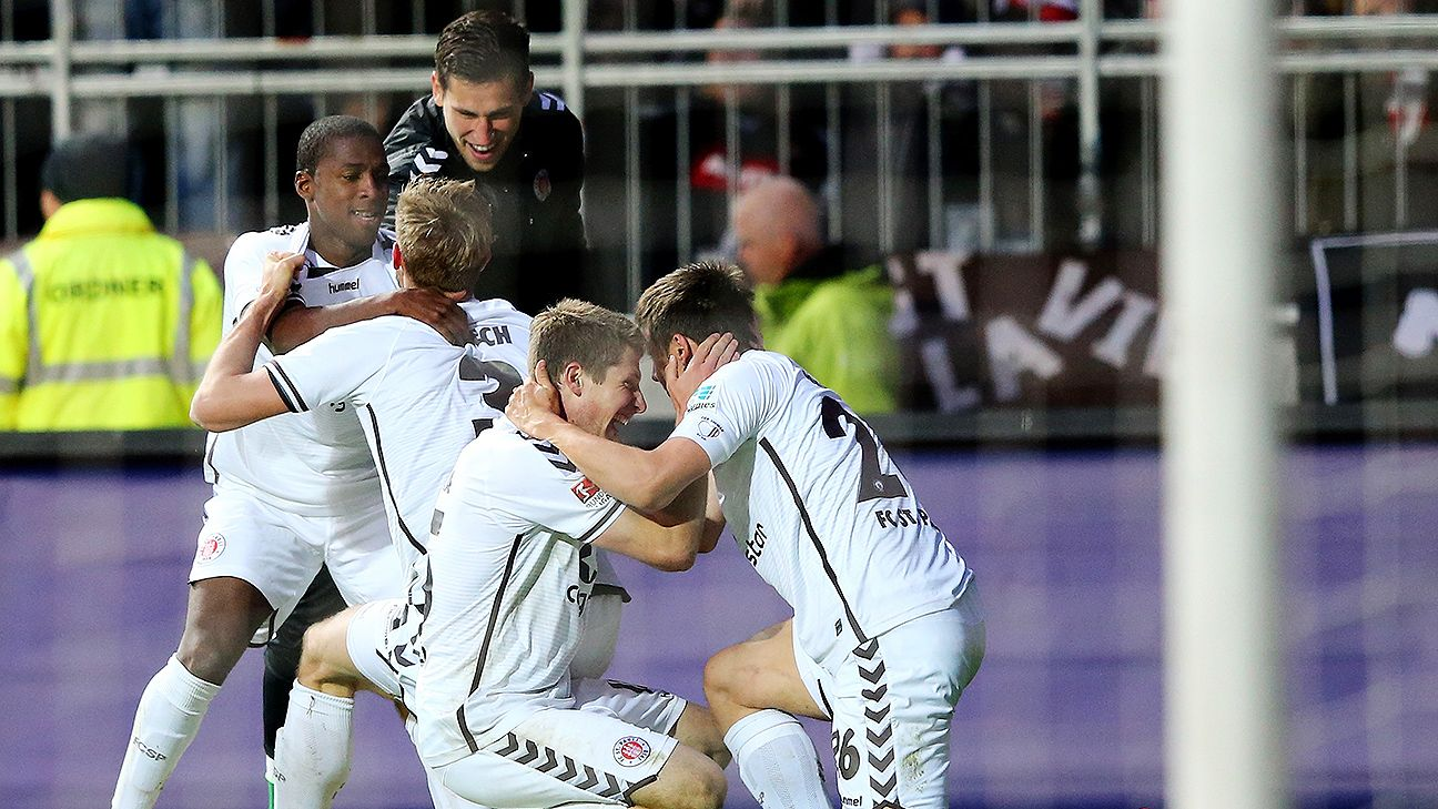 A late winner versus Nurnberg offers St. Pauli hope of staying in the 2. Bundesliga.