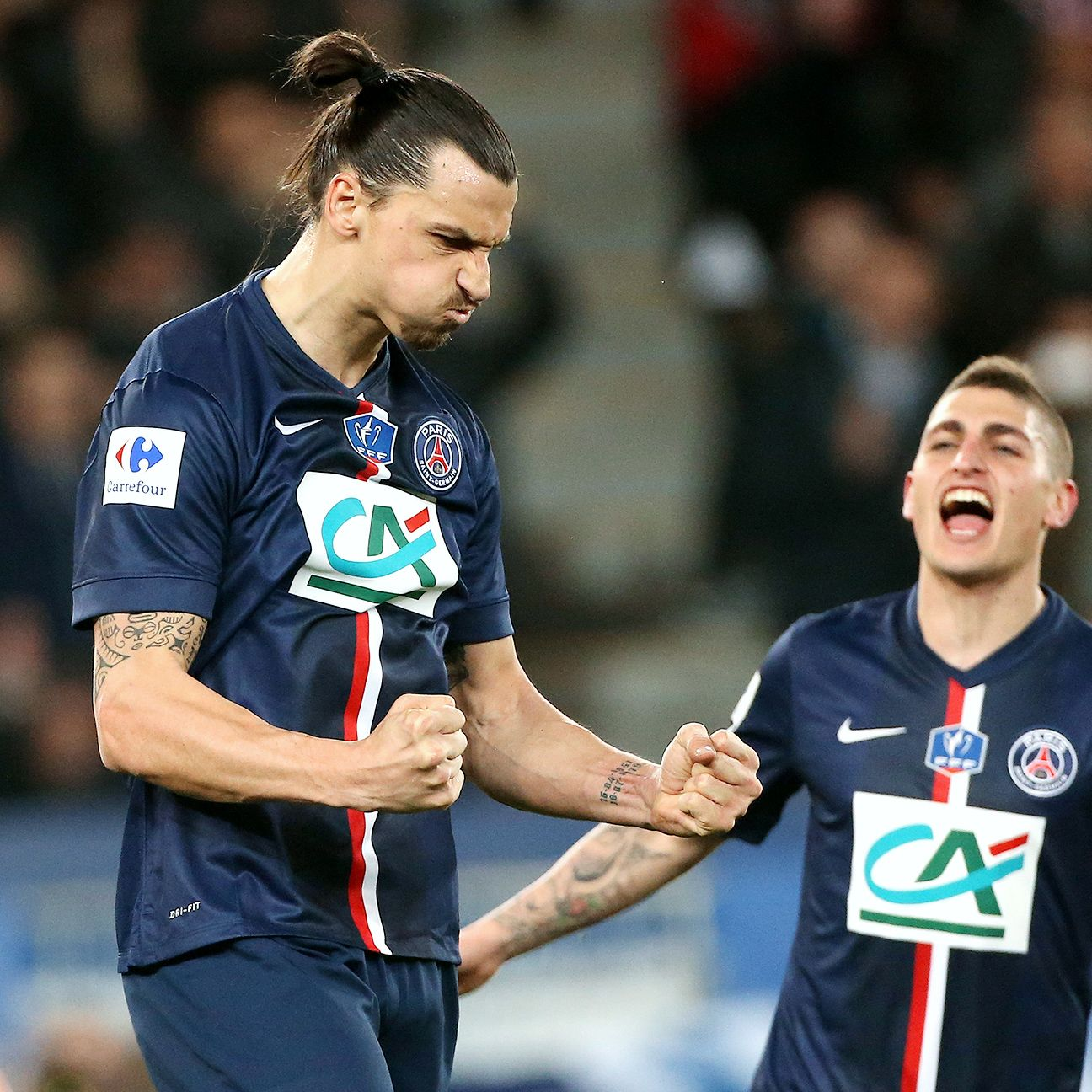With Zlatan Ibrahimovic and Marco Verratti back in the fold, PSG's attack should pose more of a threat against Barcelona.