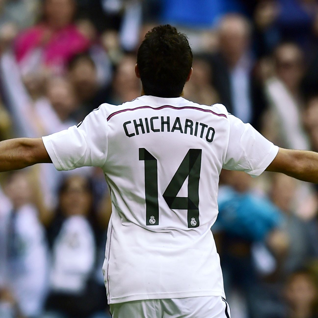 Chicharito's winning goal was a deserved reward for his tireless effort against Atletico.