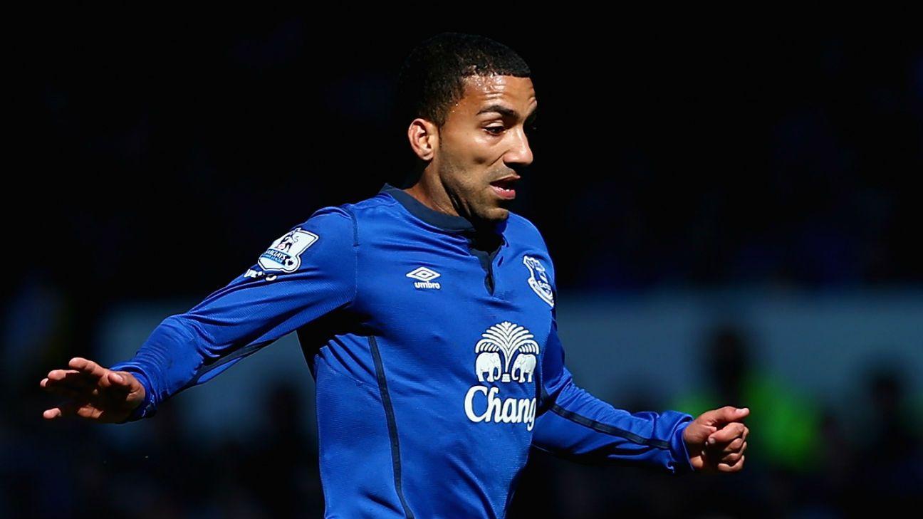 Aaron Lennon joins Everton from Tottenham on three year ...