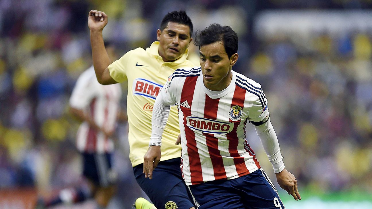 The enormity of the Chivas-America rivalry will not faze Guadalajara veteran Omar Bravo.