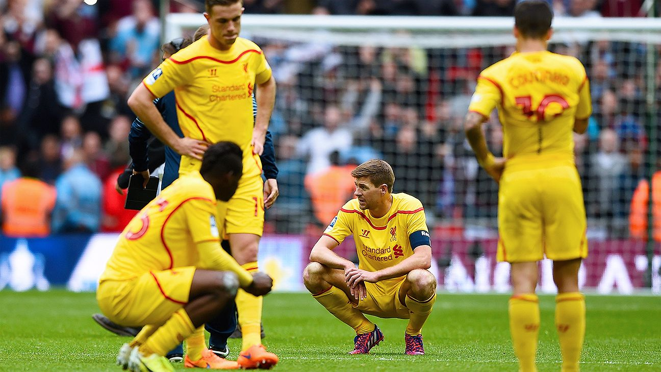 Steven Gerrard: Liverpool must be ready if top-four rivals 'slip up'