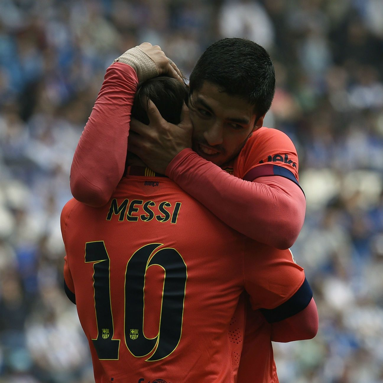 Luis Suarez and Lionel Messi helped lead yet another dominating effort in attack for Barcelona.