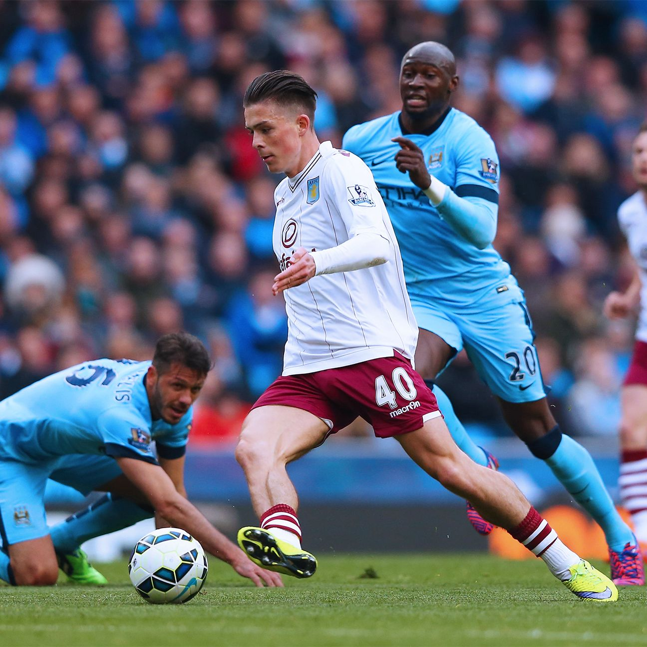 Jack Grealish built upon his dazzling display at Wembley with another assured performance versus City.