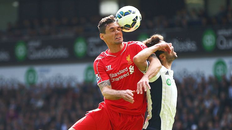 Dejan Lovren was composed all afternoon in handling West Brom's attack.