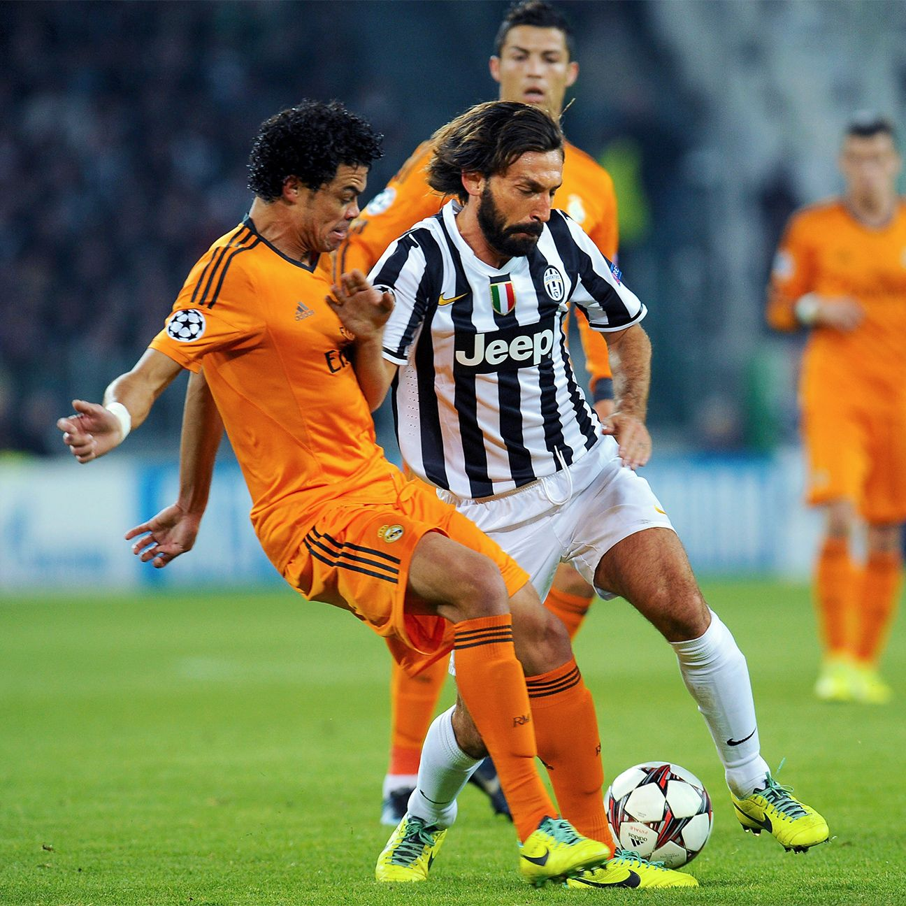 Pepe and Real Madrid are a familiar Champions League foe for Andrea Pirlo and Juventus.