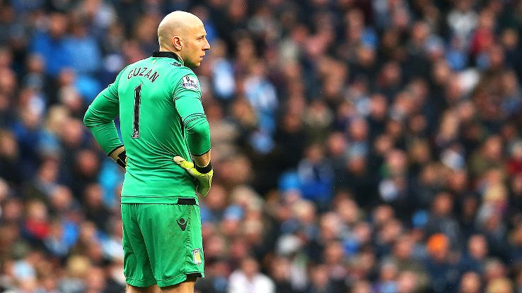 Brad Guzan and Aston Villa face a long road ahead in their bid to avoid relegation.