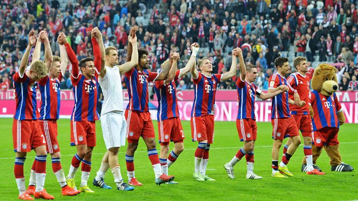 Bayern Munich's quest for a fourth consecutive Bundesliga begins August 14.