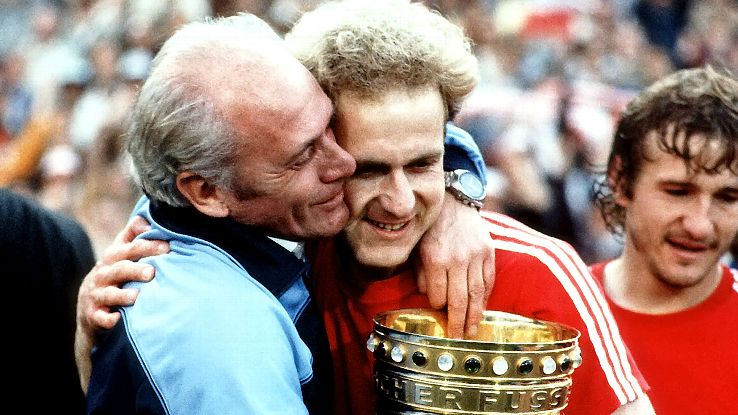 In the end, the 1983-84 DFB-Pokal was won by Udo Lattek's Bayern Munich, thanks in part to the play of Karl-Heinz Rummenigge.