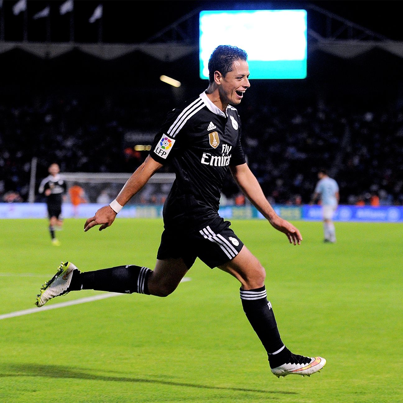 Chicharito Hernandez has four goals in his last four matches for Real Madrid.