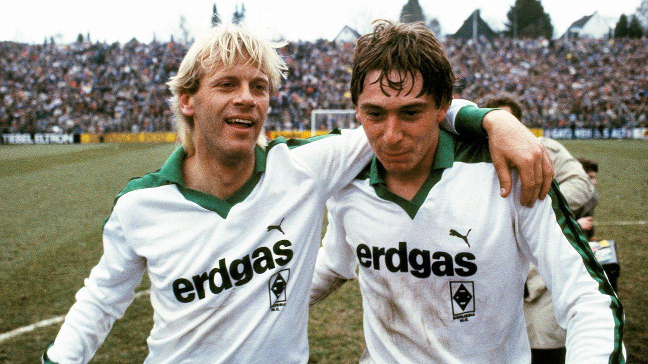 Borussia Monchengladbach were all smiles after surviving their semifinal thriller versus Werder Bremen.