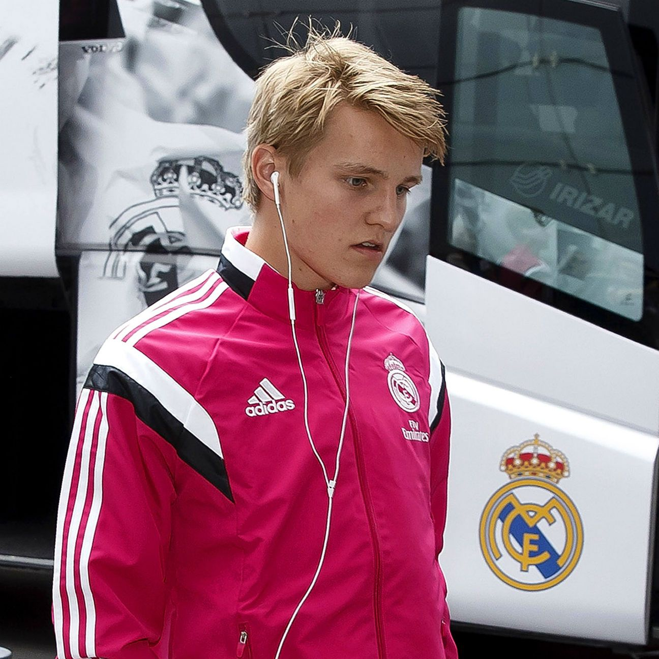 Martin Odegaard made the match-day roster in Real Madrid's recent home win over Almeria.