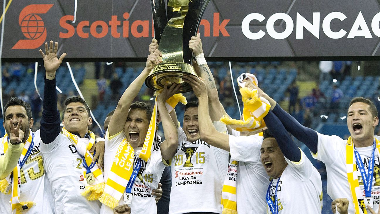 Club America of Liga MX will be seeking a second straight CONCACAF Champions League title.