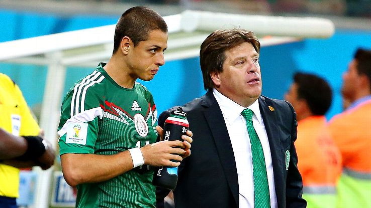 Mexico head coach Miguel Herrera has already expressed his desire to see Chicharito at a club where he can play regularly.