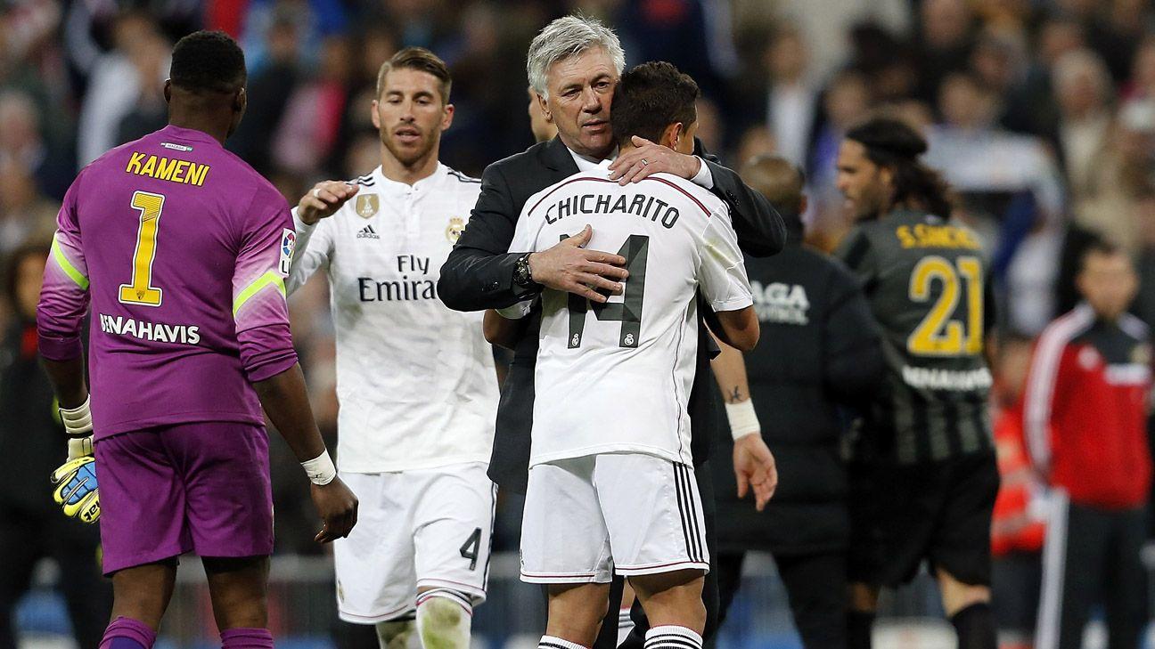 Chicharito: Man United's Van Gaal very strict; Ancelotti is more like Ferguson