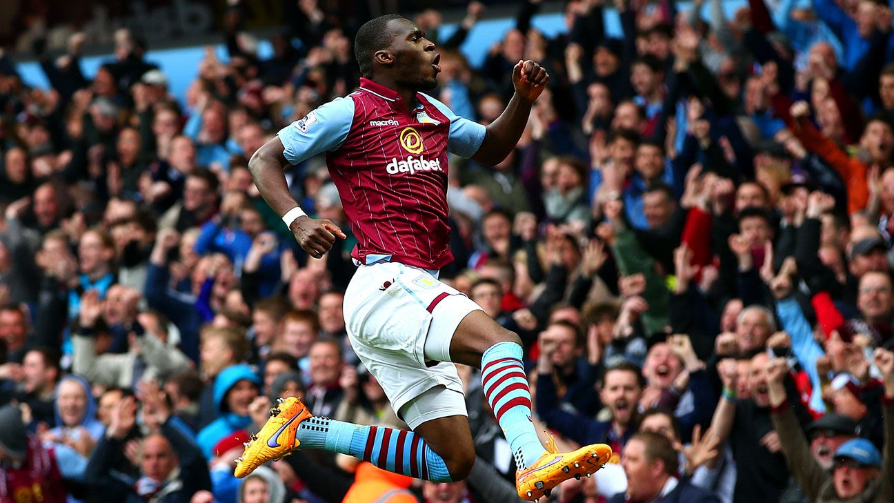Christian Benteke bagged a brace to lead Aston Villa past Everton.
