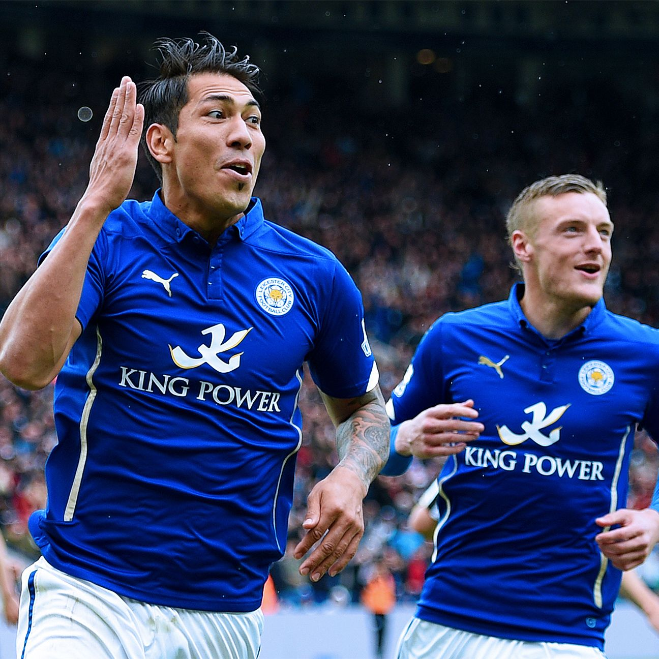 Leo Ulloa has found his goal-scoring form at the right time for Leicester.