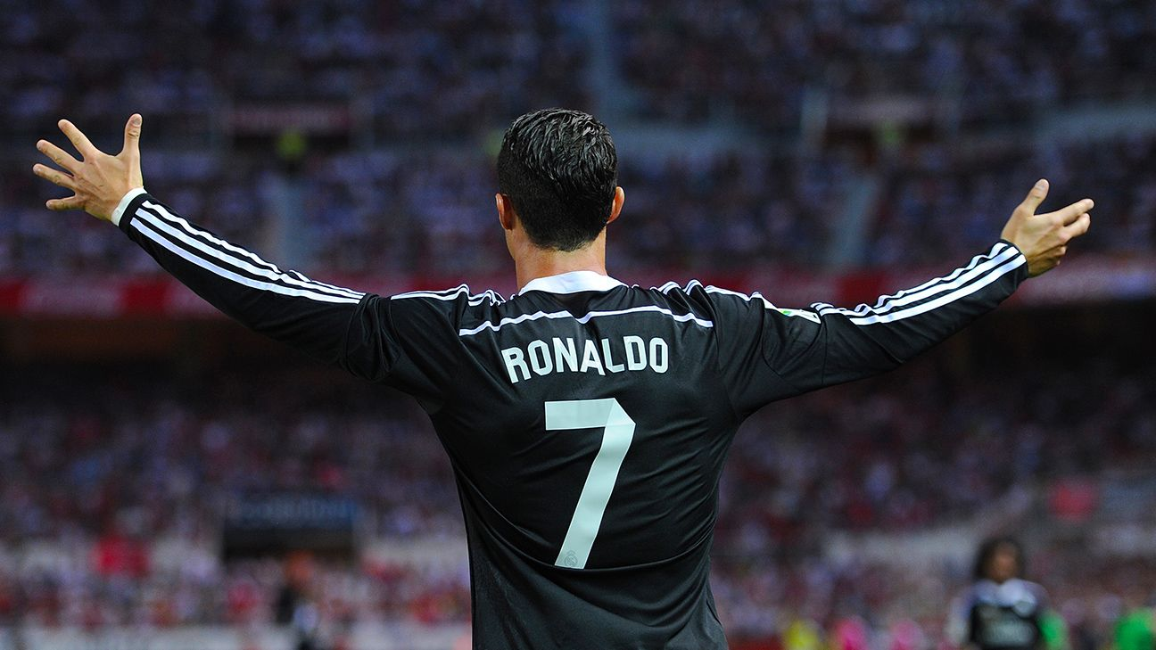 After going three matches without a goal, Cristiano Ronaldo took his frustrations out on Sevilla with a hat trick.