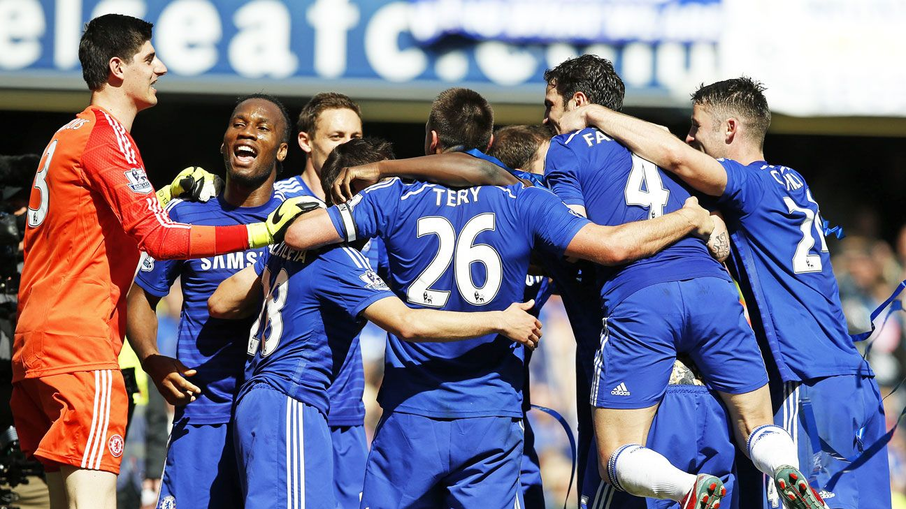 Champions Chelsea influence Team of the Weekend after league title glory
