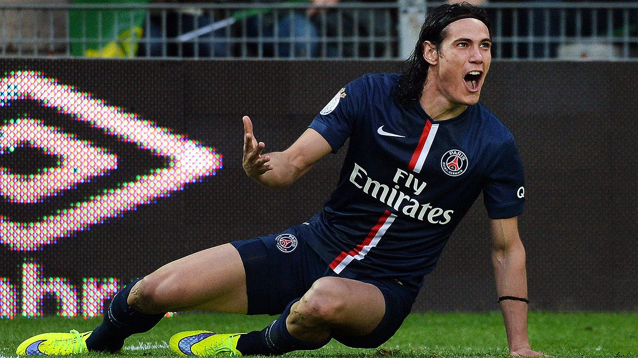 Edinson Cavani has had his ups and down in Paris but could find a willing suitor at Old Trafford.
