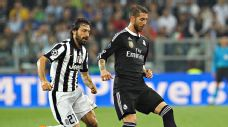 Sergio Ramos also endured a difficult night as Madrid