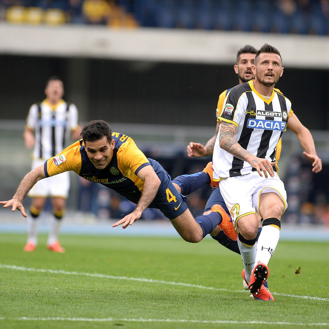 Rafa Marquez, left, endured a tough outing versus Udinese which ended with a late sending off for dissent.