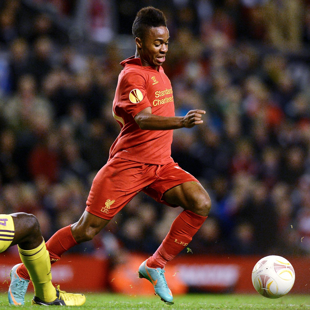 Rodgers used the 2012-13 Europa League to give Raheem Sterling some valuable first-team minutes.